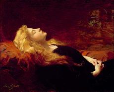 """Resting"" by Victor Gabriel Gilbert (1847-1933)"